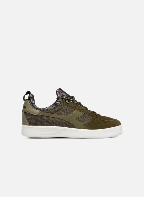 Sneaker Diadora B.Elite camo socks grün ansicht von hinten