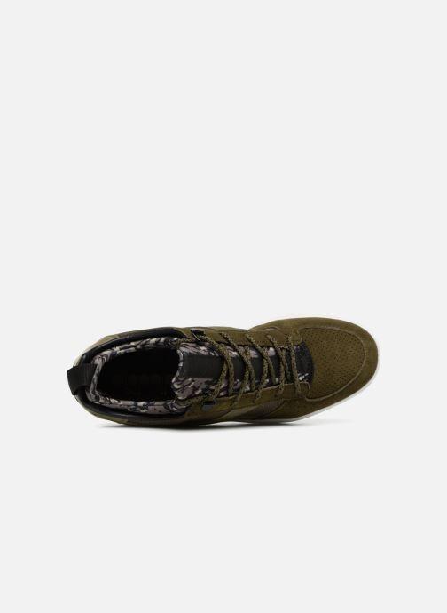 Baskets Diadora B.Elite camo socks Vert vue gauche