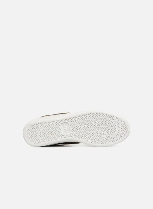Baskets Diadora B.Elite camo socks Vert vue haut