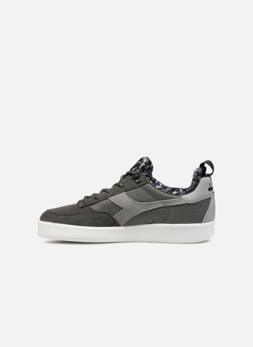 Sneakers Diadora B.Elite camo socks Grigio immagine frontale