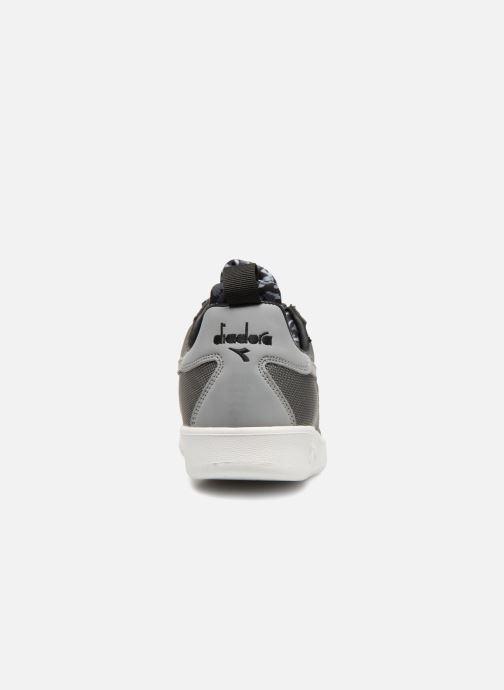 Baskets Diadora B.Elite camo socks Gris vue droite