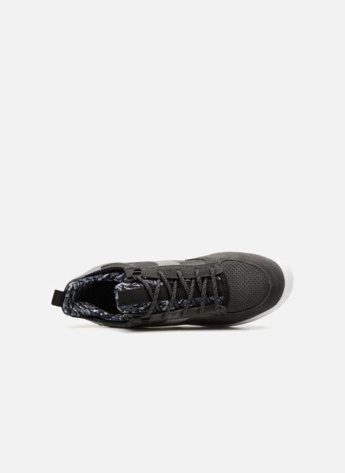 Deportivas Diadora B.Elite camo socks Gris vista lateral izquierda