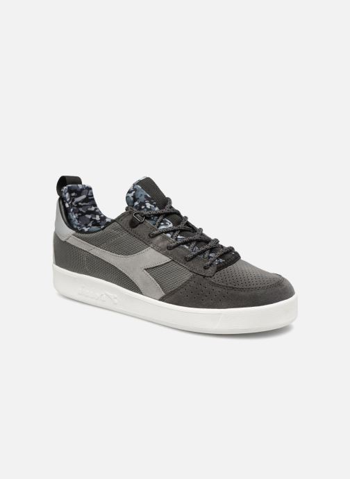 Baskets Diadora B.Elite camo socks Gris vue détail/paire