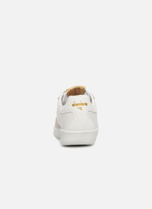 Trainers Diadora B.Elite xmas W White view from the right