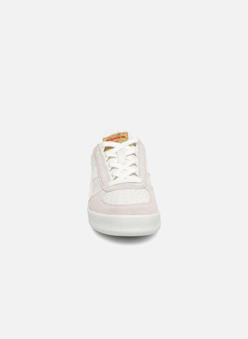 Baskets Diadora B.Elite xmas Blanc vue portées chaussures