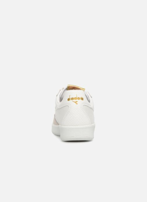 Trainers Diadora B.Elite xmas White view from the right