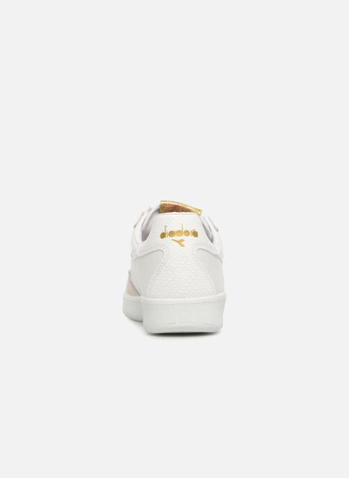 Sneaker Diadora B.Elite xmas weiß ansicht von rechts