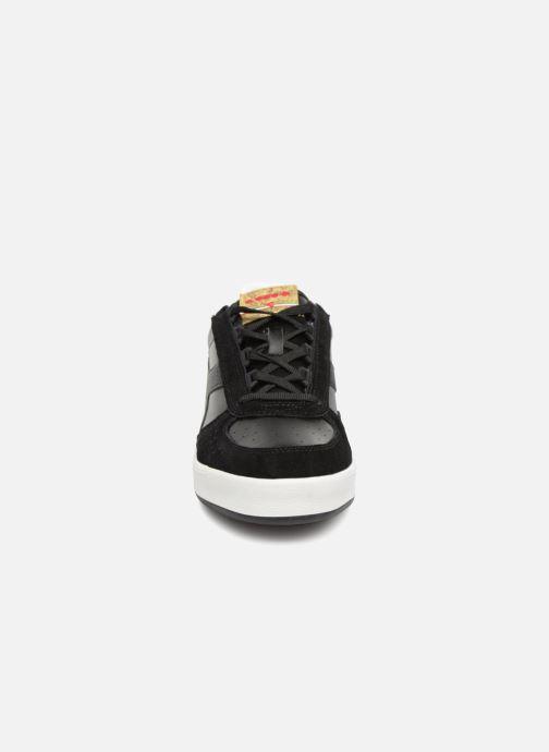Baskets Diadora B.Elite xmas Noir vue portées chaussures