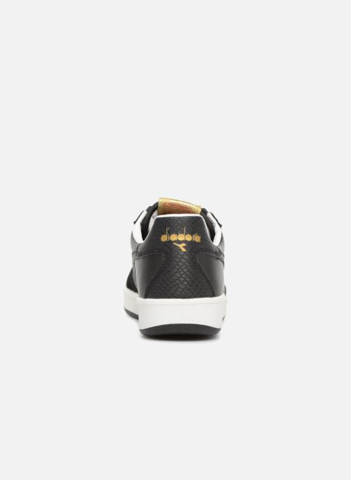 Trainers Diadora B.Elite xmas Black view from the right
