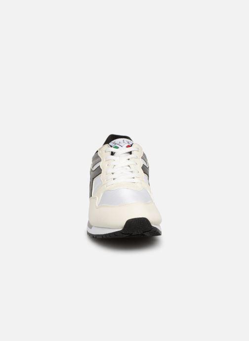 Baskets Diadora Intrepid nyl Blanc vue portées chaussures