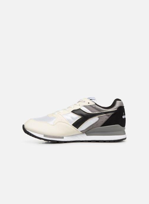 Sneaker Diadora Intrepid nyl weiß ansicht von vorne
