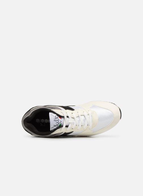 Sneaker Diadora Intrepid nyl weiß ansicht von links