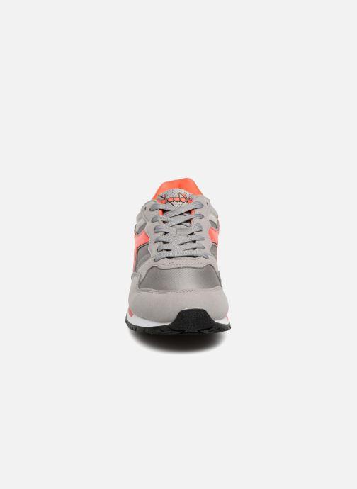 Sneaker Diadora Intrepid nyl W grau schuhe getragen