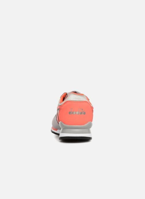 Sneaker Diadora Intrepid nyl W grau ansicht von rechts