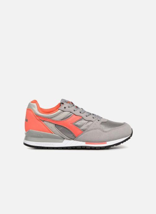 Sneaker Diadora Intrepid nyl W grau ansicht von hinten