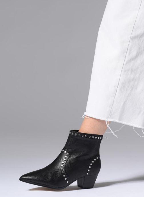 Bottines et boots Aldo Alerama Noir vue bas / vue portée sac