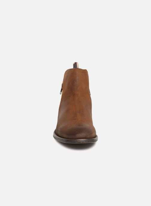 Bottines et boots Aldo Gerone Marron vue portées chaussures