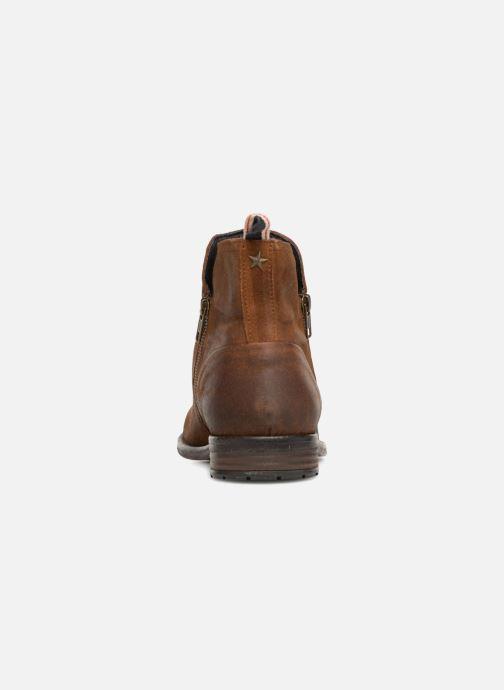 Bottines et boots Aldo Gerone Marron vue droite