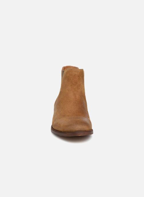 Bottines et boots Aldo Acaudia Marron vue portées chaussures