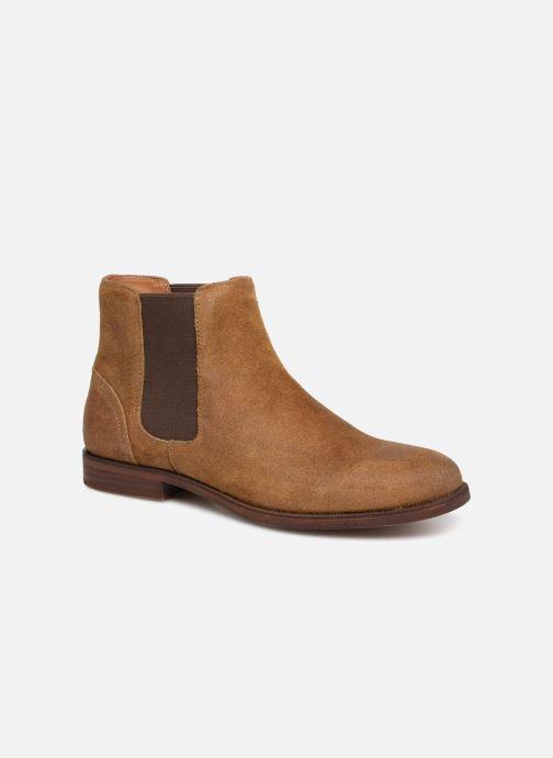 Bottines et boots Aldo Acaudia Marron vue détail/paire