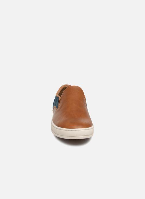 Baskets Aldo Viscone Marron vue portées chaussures