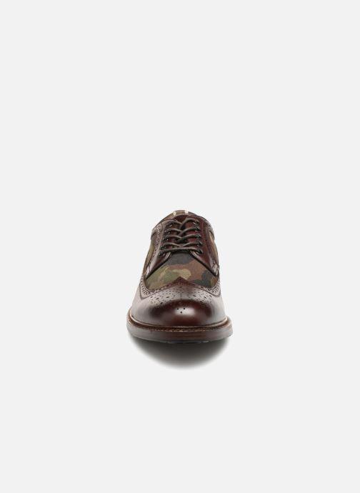Schnürschuhe Aldo Branton braun schuhe getragen