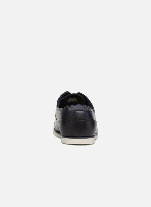Chaussures à lacets Aldo Cyforien Bleu vue droite