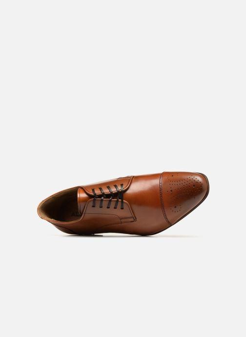 Chaussures à lacets Aldo Reciso Marron vue gauche