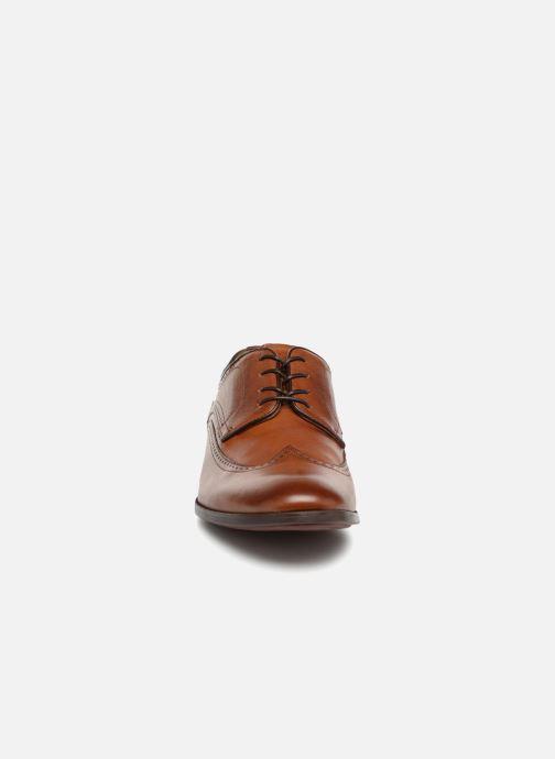 Schnürschuhe Aldo Bonville braun schuhe getragen