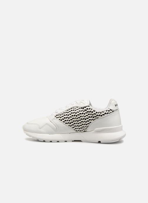 Sneaker Le Coq Sportif Omega X W Woven weiß ansicht von vorne