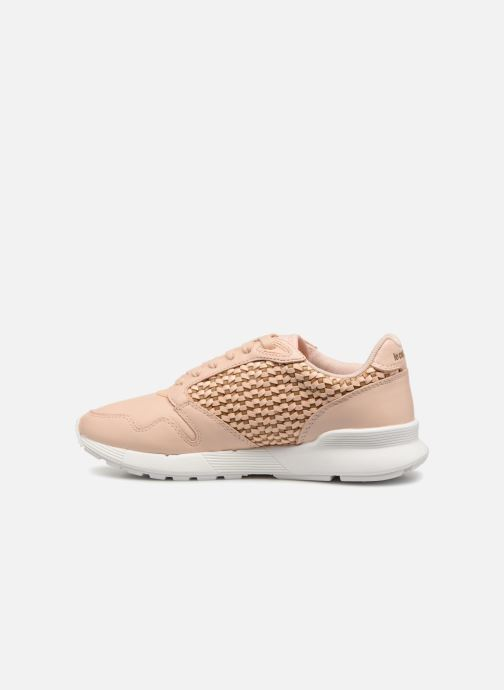 Sneaker Le Coq Sportif Omega X W Woven rosa ansicht von vorne