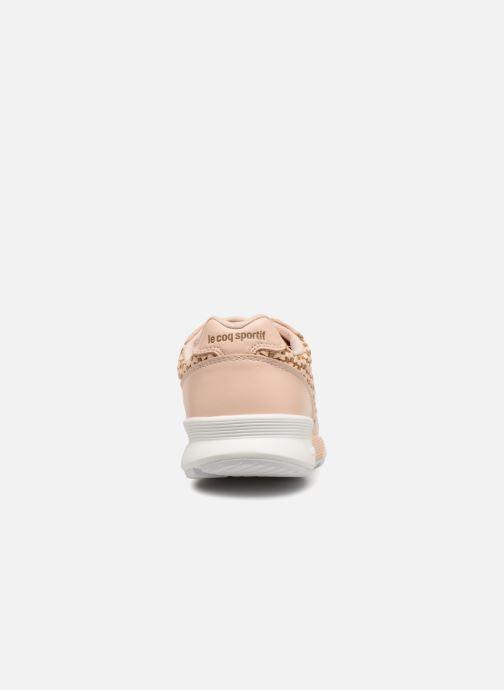 Sneaker Le Coq Sportif Omega X W Woven rosa ansicht von rechts