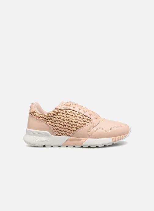 Sneaker Le Coq Sportif Omega X W Woven rosa ansicht von hinten