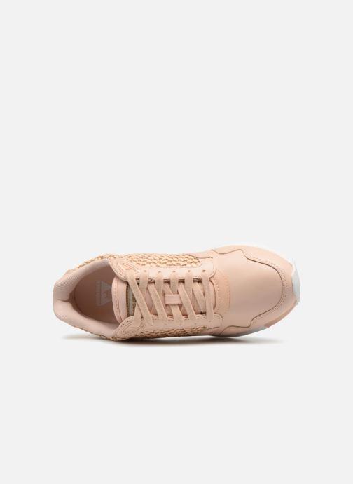 Sneakers Le Coq Sportif Omega X W Woven Rosa immagine sinistra
