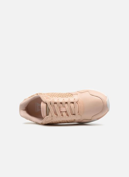 Sneaker Le Coq Sportif Omega X W Woven rosa ansicht von links