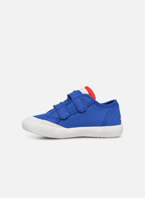 Baskets Le Coq Sportif Nationale INF Bleu vue face