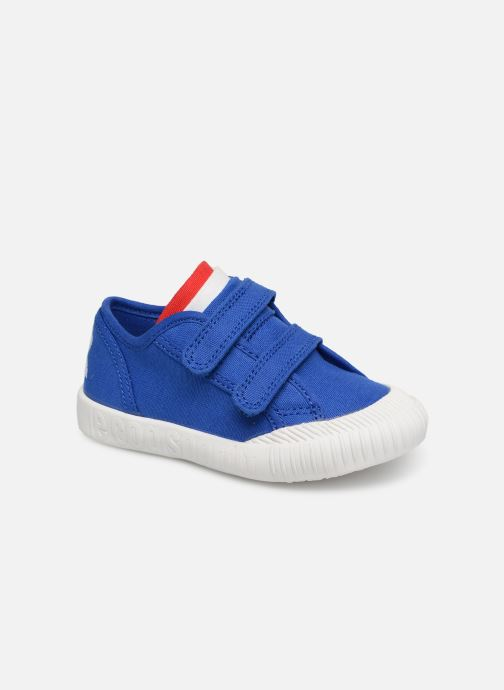 Sneakers Le Coq Sportif Nationale INF Blauw detail