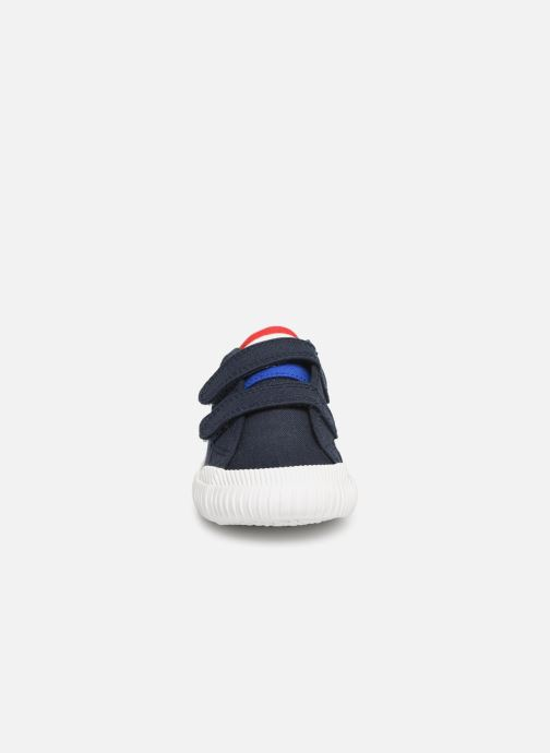 Sneaker Le Coq Sportif Nationale INF blau schuhe getragen