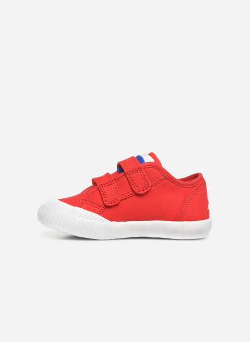 Baskets Le Coq Sportif Nationale INF Rouge vue face