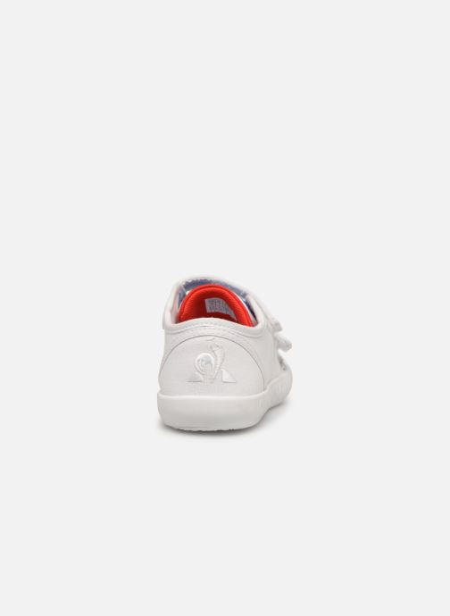 Sneakers Le Coq Sportif Nationale INF Wit rechts