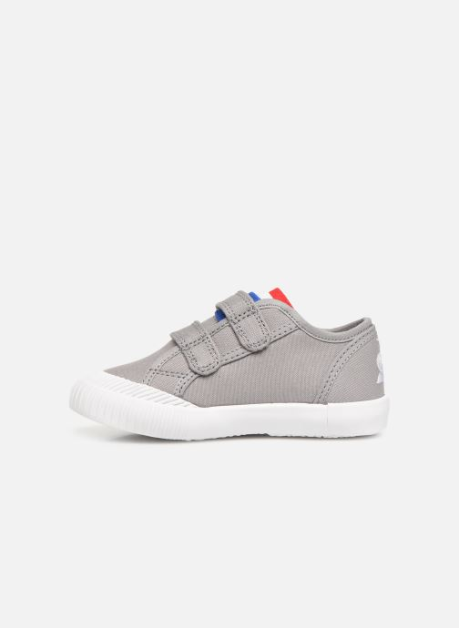 Baskets Le Coq Sportif Nationale INF Gris vue face