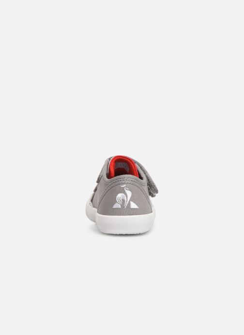 Trainers Le Coq Sportif Nationale INF Grey view from the right