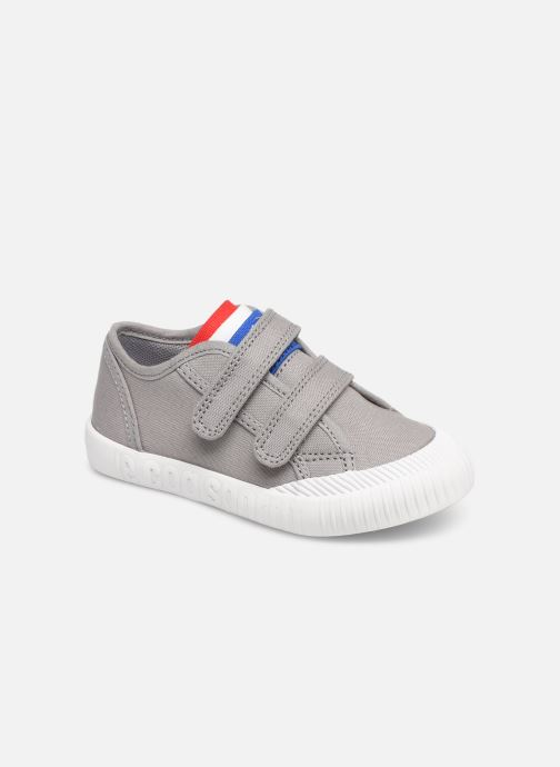 Trainers Le Coq Sportif Nationale INF Grey detailed view/ Pair view