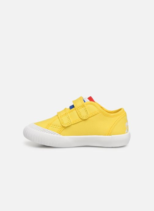 Trainers Le Coq Sportif Nationale INF Yellow front view