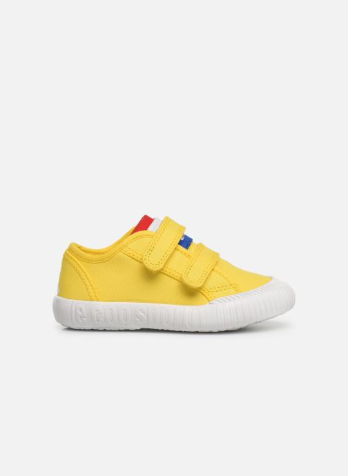 Trainers Le Coq Sportif Nationale INF Yellow back view
