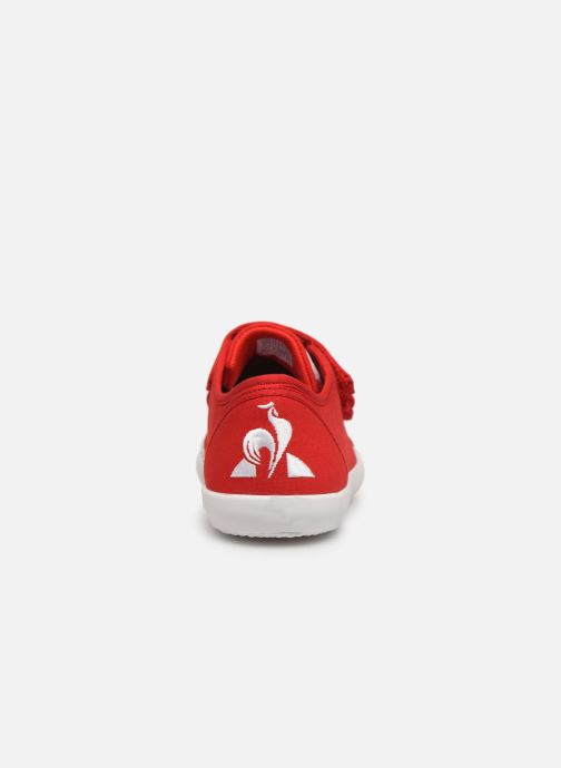Sneakers Le Coq Sportif Nationale PS Rood rechts