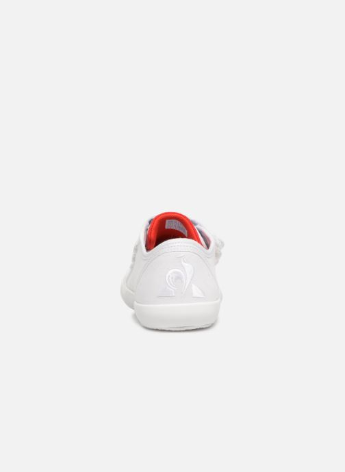 Deportivas Le Coq Sportif Nationale PS Blanco vista lateral derecha