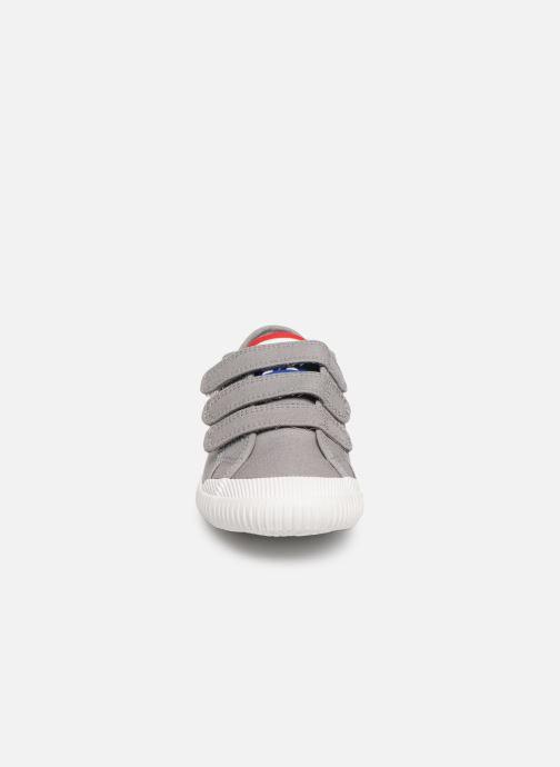 Baskets Le Coq Sportif Nationale PS Gris vue portées chaussures