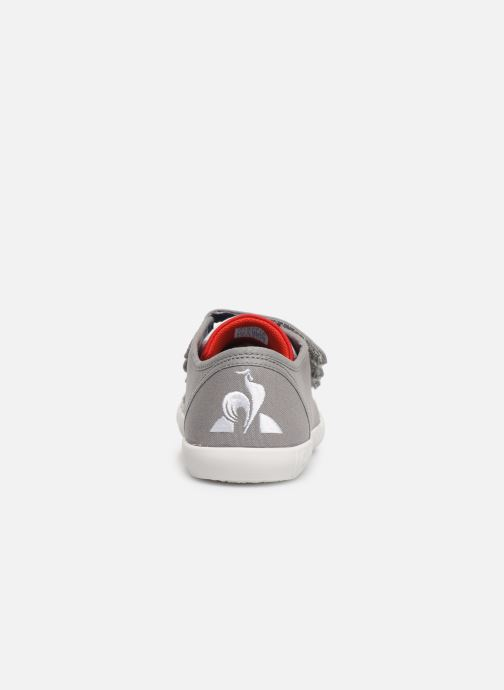 Trainers Le Coq Sportif Nationale PS Grey view from the right