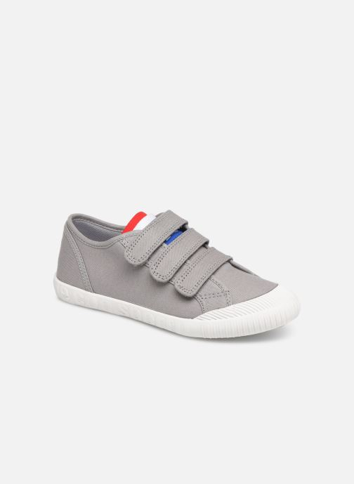 Trainers Le Coq Sportif Nationale PS Grey detailed view/ Pair view